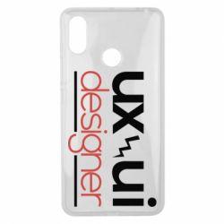 Чехол для Xiaomi Mi Max 3 UX UI Designer - FatLine