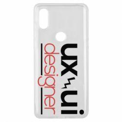 Чехол для Xiaomi Mi Mix 3 UX UI Designer - FatLine