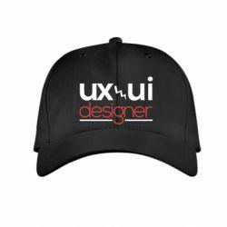 Детская кепка UX UI Designer - FatLine