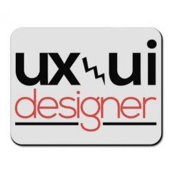 Коврик для мыши UX UI Designer - FatLine