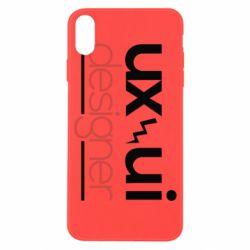 Чохол для iPhone X/Xs UX UI Designer