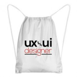 Рюкзак-мішок UX UI Designer