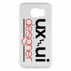 Чехол для Samsung S6 UX UI Designer - FatLine