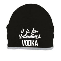Шапка V is for VODKA