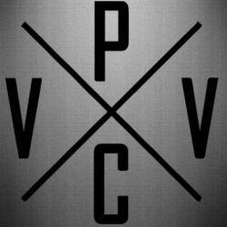 Наклейка V.V.P.C