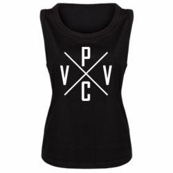 Женская майка V.V.P.C