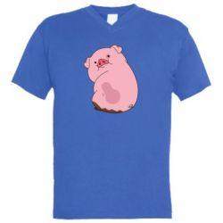 Мужская футболка  с V-образным вырезом Vadlz - FatLine