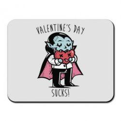 Килимок для миші Valentine's day SUCKS!