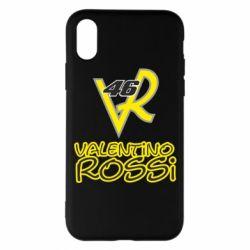 Чохол для iPhone X/Xs Valentino Rossi 46