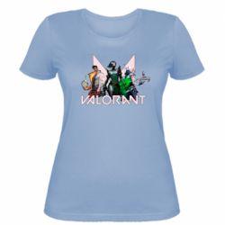 Жіноча футболка Valorant characters
