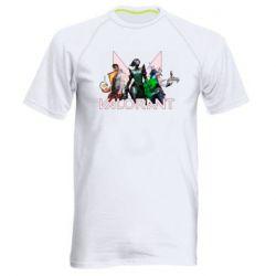 Чоловіча спортивна футболка Valorant characters