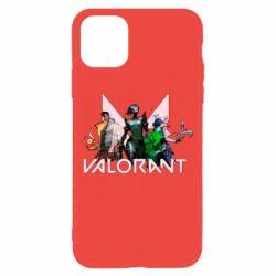 Чохол для iPhone 11 Pro Valorant characters