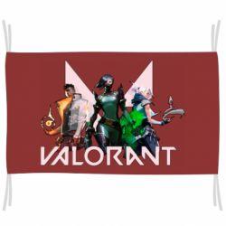 Прапор Valorant characters