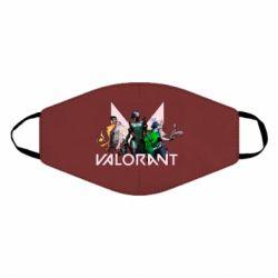 Маска для обличчя Valorant characters