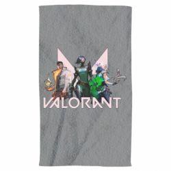 Рушник Valorant characters