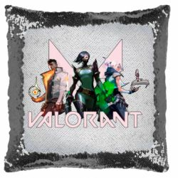Подушка-хамелеон Valorant characters