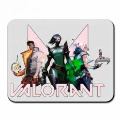 Килимок для миші Valorant characters