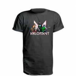 Подовжена футболка Valorant characters