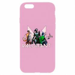 Чохол для iPhone 6 Plus/6S Plus Valorant characters