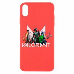 Чохол для iPhone X/Xs Valorant characters