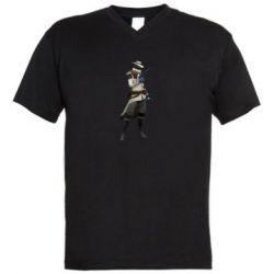 Чоловіча футболка з V-подібним вирізом Valorant Cypher