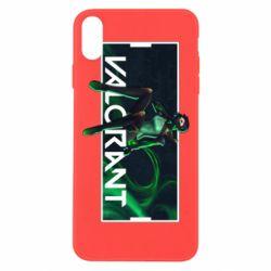 Чохол для iPhone Xs Max Valorant player