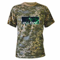 Камуфляжна футболка Valorant player