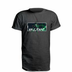 Подовжена футболка Valorant player