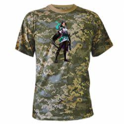 Камуфляжна футболка Valorant Sage