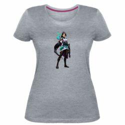 Жіноча стрейчева футболка Valorant Sage