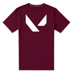 Чоловіча стрейчева футболка Valorant sign