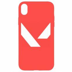 Чохол для iPhone XR Valorant sign