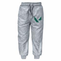 Дитячі штани Valorant sign