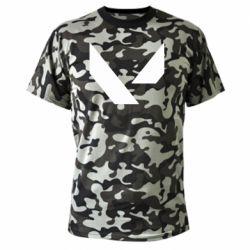 Камуфляжна футболка Valorant sign