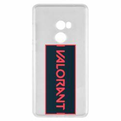 Чехол для Xiaomi Mi Mix 2 Valorant text