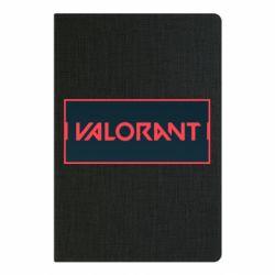 Блокнот А5 Valorant text