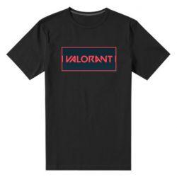 Чоловіча стрейчева футболка Valorant text