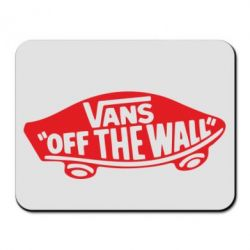 Коврик для мыши Vans of the walll Logo - FatLine