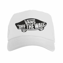 Кепка-тракер Vans of the walll Logo - FatLine