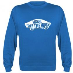 Реглан (свитшот) Vans of the walll Logo - FatLine