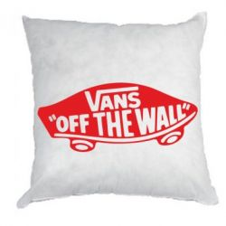 Подушка Vans of the walll Logo - FatLine