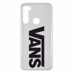 Чохол для Xiaomi Redmi Note 8 Vans