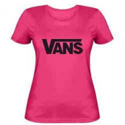 Женская футболка Vans - FatLine