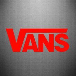 Наклейка Vans - FatLine