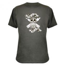 Камуфляжная футболка Vape to live - FatLine