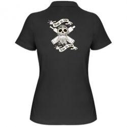 Женская футболка поло Vape to live - FatLine