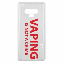 Чехол для Samsung Note 9 Vaping is not a crime
