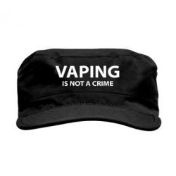 Кепка милитари Vaping is not a crime