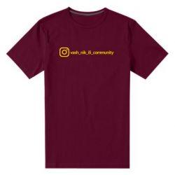 Мужская стрейчевая футболка Vash nik