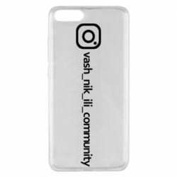 Чехол для Xiaomi Mi Note 3 Vash nik